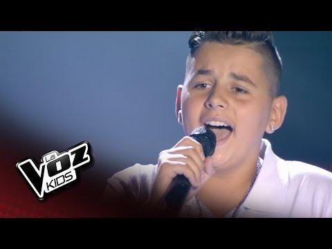 "Juanfri: ""A Puro Dolor"" – Audiciones a Ciegas  - La Voz Kids 2018"