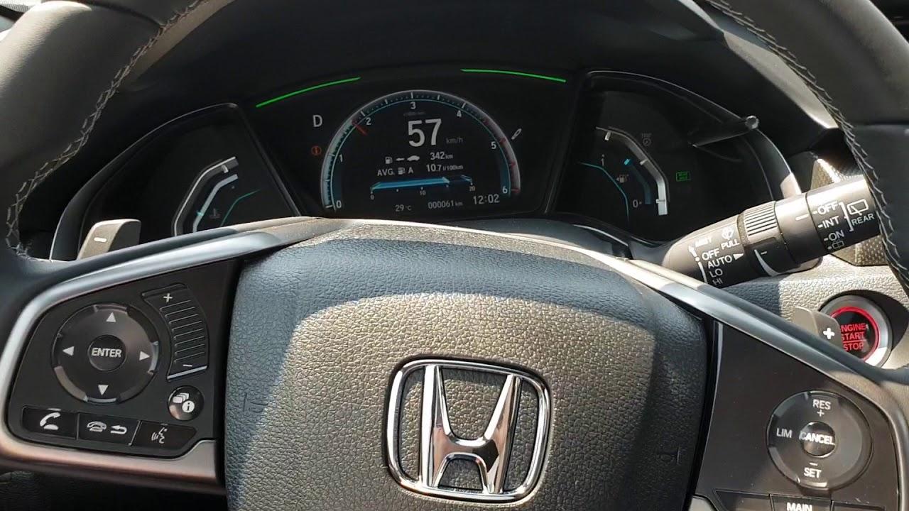 Honda Civic Dizel Otomatik 9 At Test Sürüşü Youtube