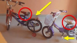 ام روميساء و امير اشترت لابنائها دراجاتات اكتشفوها في هدا الفيديو يوميات اطفال نايس