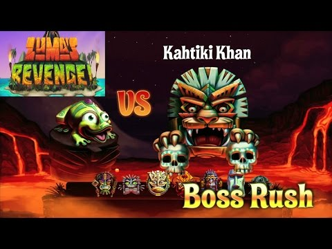 Zuma's Revenge - Boss Rush Mode [HD] Gameplay (1st time trying this mode)