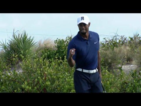 Highlights   Tiger Woods' best round in 3 years at Hero World Challenge
