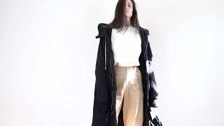 My minimalist, unisex wardrobe (fall/winter style lookbook)