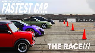 Fastest Car Season 2 Race day two sleepers and Mini vs Mclaren