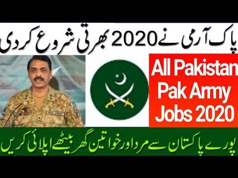 New Pak Army Jobs 2020 Ll Join Pak Army 2020 Ll Job Service Pakistan