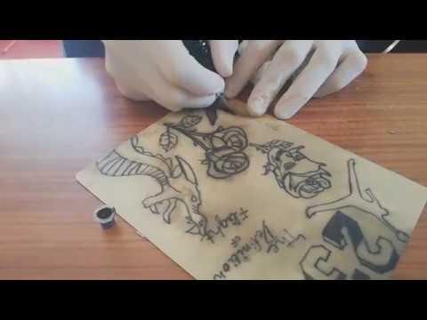 Tattoo Beginner's Practice (15 Yrs/old)