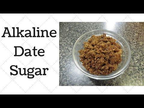 Date Sugar Dr.Sebi Alkaline Electric Recipe