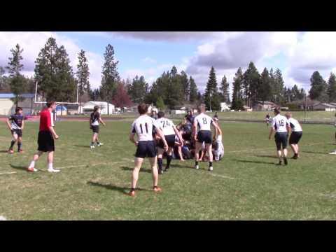 Flathead Valley Black & Blue vs. North Idaho Highlanders - 1st Half