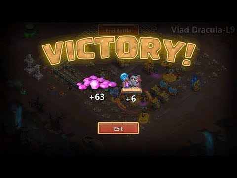 Zephyrica Try To Roll With 1k5 Gems And FAILED F2P Castle Clash