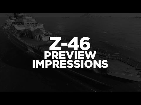 World of Warships - Z-46 Preview Impressions