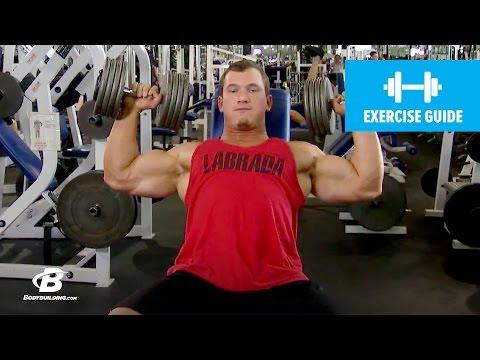 Dumbbell Shoulder Press with Hunter Labrada | Exercise Guide