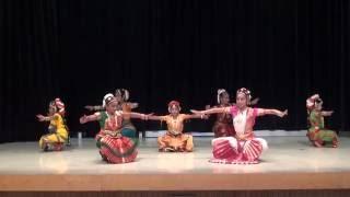 Alarippu (Bharathanatiyam) - by Anita Sharma Dance school kids