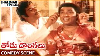 Thodu Dongalu Movie || Sarathi Superb Comedy With Rao Gopal Rao || Chiranjeevi || Shalimarcinema