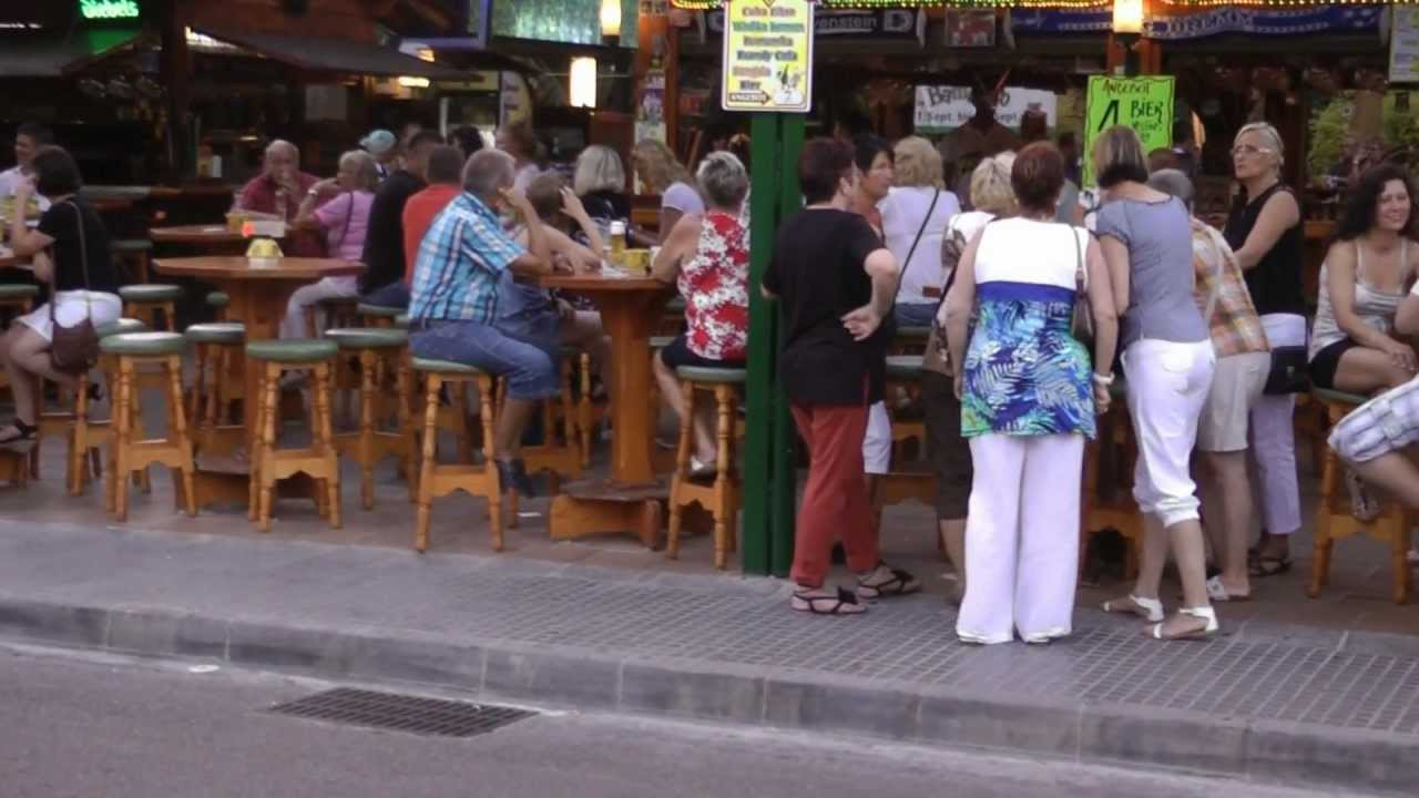 Mallorca Schinkenstraße Webcam