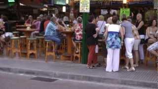 Mallorca Playa de Palma-Schinkenstrasse 24.8.2012
