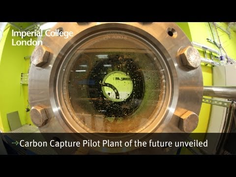 Carbon Capture Pilot Plant of the future unveiled
