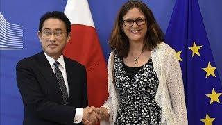 ЕС торопится заключить торговое соглашение с Японией