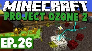 Minecraft Project Ozone - CLOUD STORAGE! #55 [Modded HQM