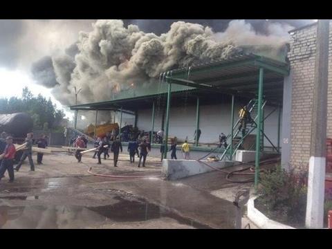 Обстрел в Донецке