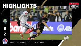 SCCL2020: Seattle vs Olimpia   Highlights