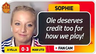 SOPHIE! RASHFORD MORE CONFIDENT! Aston Villa 0-3 Manchester United