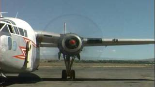 The Hagerstown Aviation Museum's 1953 C-119 engine run test in Grey...