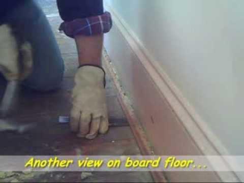 Carpet tack strip removal
