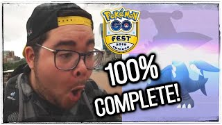 I COMPLETED my POKÉDEX at Pokémon GO Fest!
