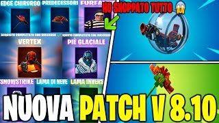 NOUVEAU PATCH UPDATE 8.10 FORTNITE VEICOLO GIROSPHERE