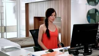 Урок 4. Йога в офисе. Простые упражнения для снятия напряжения