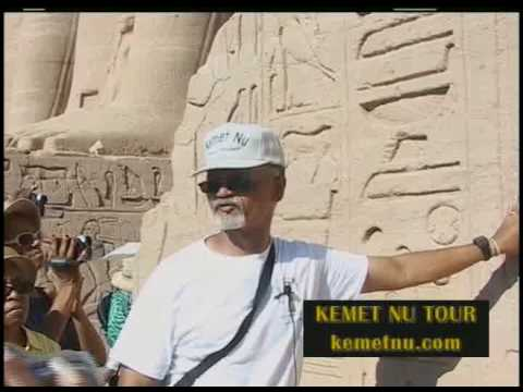 "Ashra Kwesi Reveals ""God's Chosen Children"" at the Temple of  Ramessu - Kemet (Egypt)"