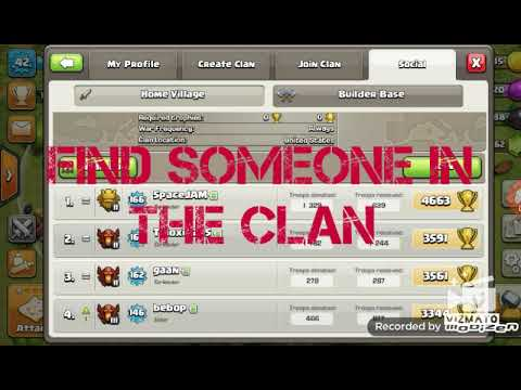 Get Into Any Invite Only Clan Clash Of Clans Youtube