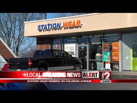 Police investigating robbery on Colerain Avenue