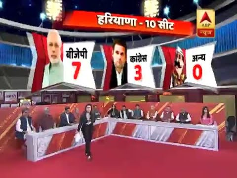 ABP Exit Poll 2019: BJP projected to win 7 seats in Haryana