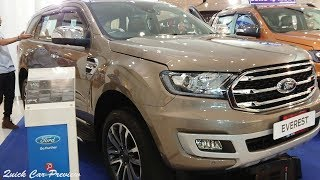 Quick Preview : 2019 Ford Everest 2.0 Bi-Turbo Titanium + 4X4 / Diffused Silver Metallic