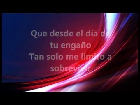 TE LLORE SOLO UN DÍA (LETRA) - DIANA LAURA (2016)