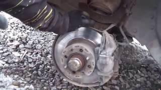 замена тормозных дисков и колодок на ВАЗ 2107