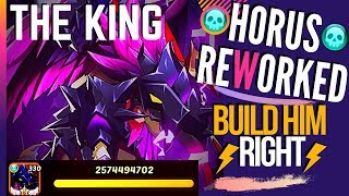 HORUS REWORKED Guide Gameplays NEW Players LISTEN UP Idle Heroes