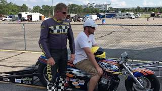 How to succeed in Motorcycle Drag Racing, 4.60 champ Tony Mullen shares advice given by Dave Schultz