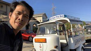 Dàn Xe Cổ Sài Gòn Của Trương Quốc Huy Tại California.