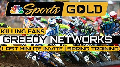 NBC Gold Package    MX Sports  Screwing Over Fans Riders   Privateers