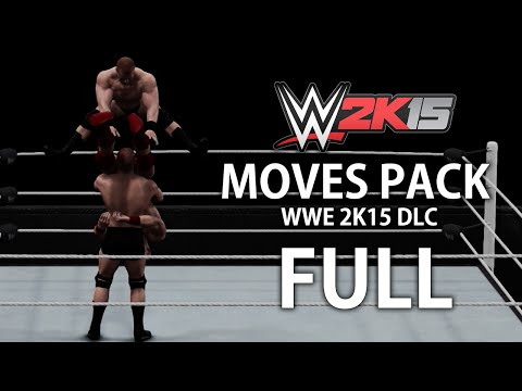 WWE 2K15 Moves Pack DLC - New Moves In Action! (XB1/PS4)