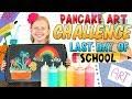 School's Out Pancake Art Challenge