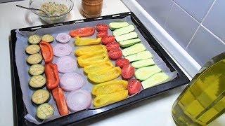 овощи гратен печеные в духовке