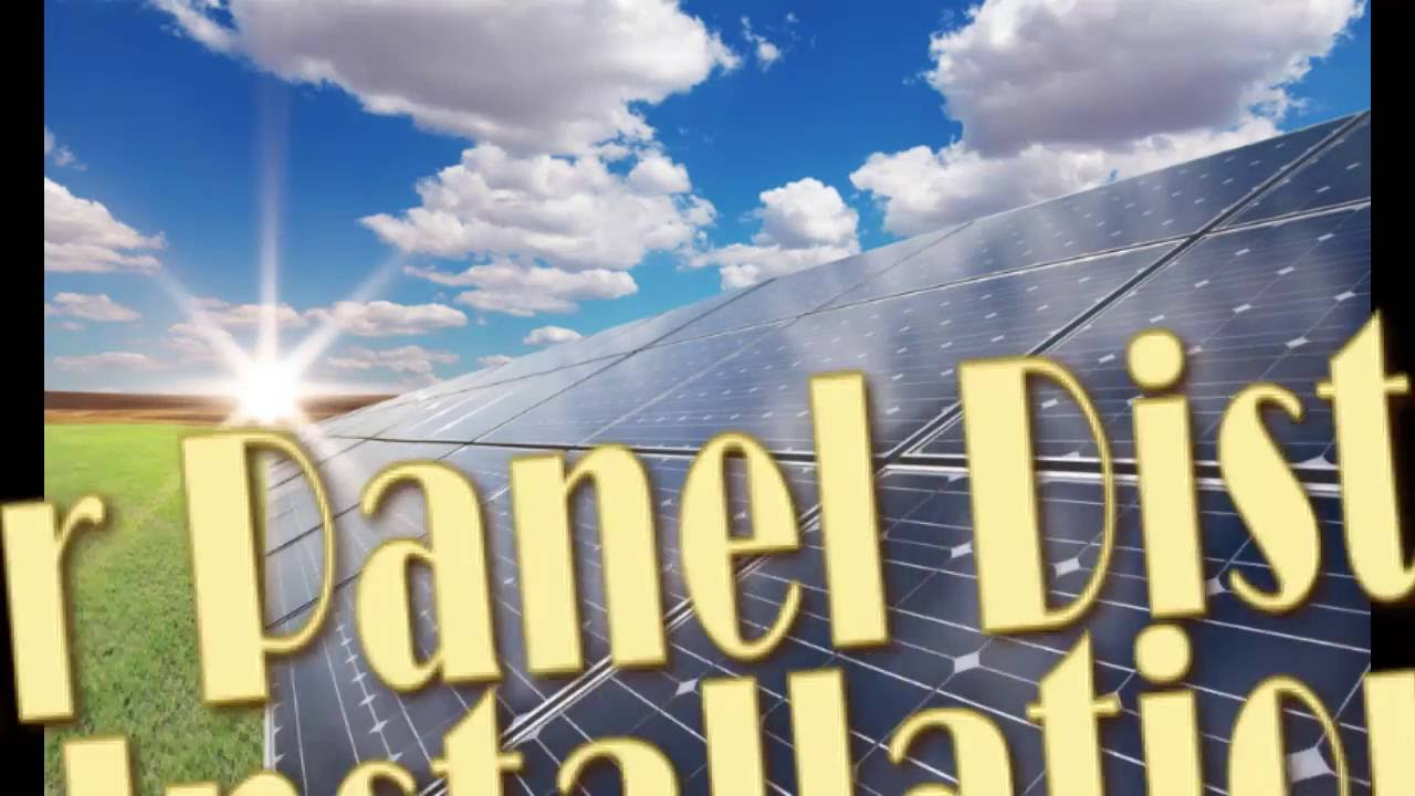 Antigua & Barbuda:  Solar Panel Distribution