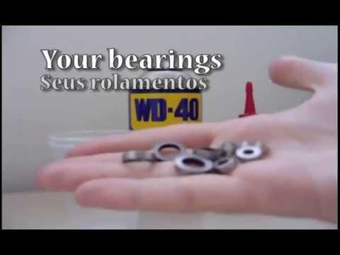 How To Clean Your RC Bearings - Como Limpar os Rolamentos do seu RC