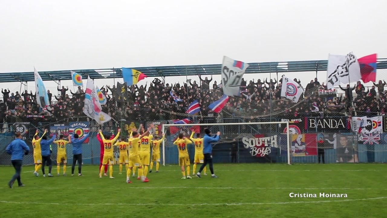Peluza SUD, la meciul cu Bucharest United