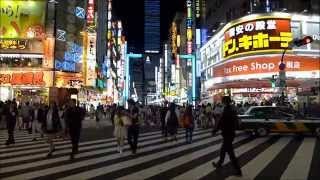 Shinjuku by Night - Tokyo Nightlife (Kabukicho)