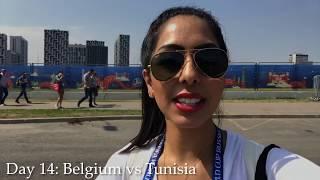 2018 World Cup Diary: Belgium vs Tunisia!