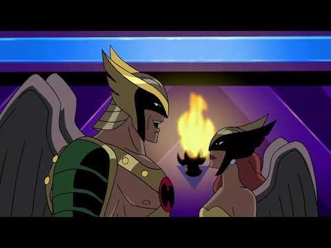 Hro and Hawkgirl reunite
