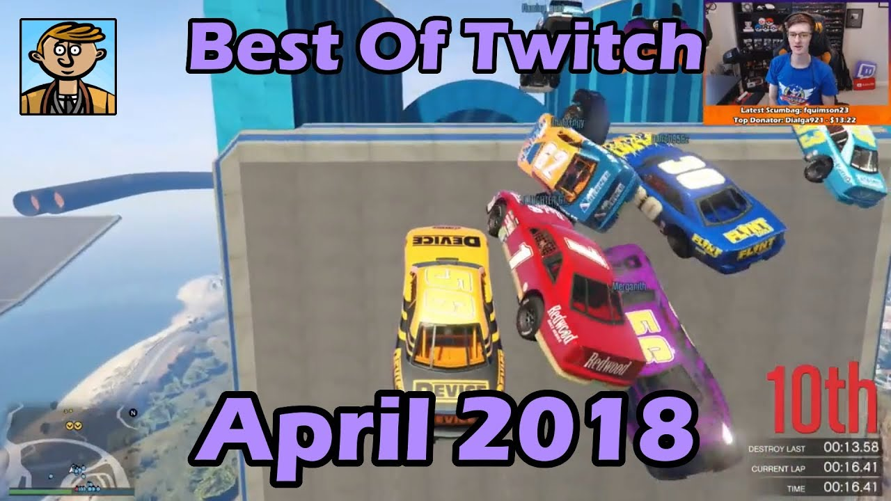 Best Of Twitch April 2018 - Live Stream Highlights/Funny Moments Compilation